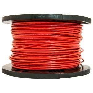 Napajalni kabel 2,50 - rdeč