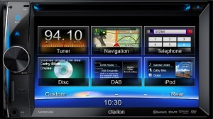 NX-502E - Clarion multimedijski radio