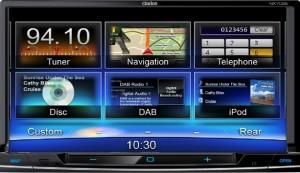 NX-702E - Clarion multimedijski radio