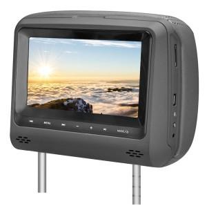 """Vzglavnik z 7"""" LED monitorjem in DVD/USB predvajalnikom"""
