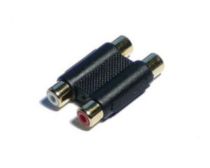 RCA adapter F/F