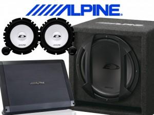 Alpine komplet Entry 25