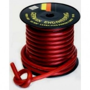 Napajalni kabel 10 - rdeč