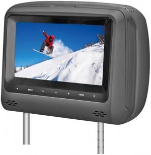 """Vzglavnik z 7"""" LED monitorjem"""